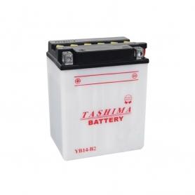 Batterie YB14B2 + à gauche