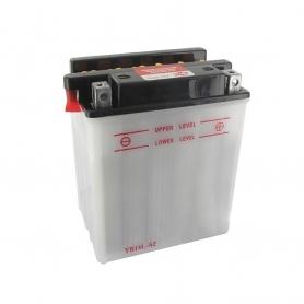 Batterie YB14LA2 + à droite