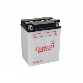 Batterie YB14LB2 + à droite