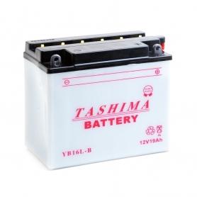Batterie YB16LB + à droite
