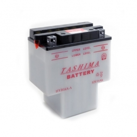 Batterie HYB16AAB + à gauche