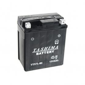 Batterie YTX7LBS + à droite