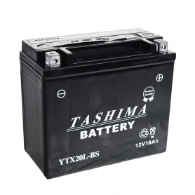 Batterie YTX20LBS + à droite