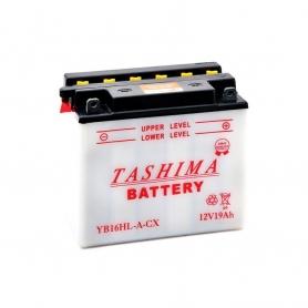 Batterie YB16HLACX + à droite