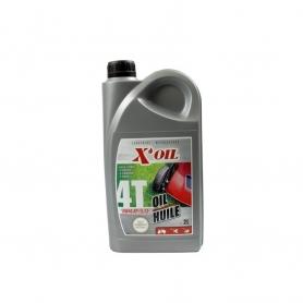 Huile moteur 4 temps 2L X'OIL 10W40
