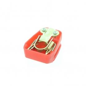 Cosse de batterie à clipser pour borne conique positive