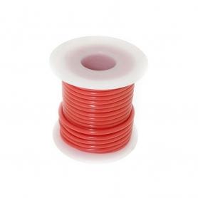 Fil électrique rouge 7,6m - 1,5 mm2