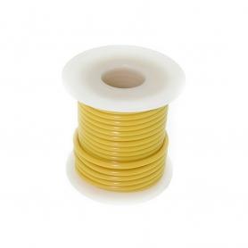 Fil électrique jaune  7,6m - 1,5 mm2