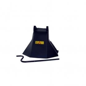 Déflecteur arrière CASTELGARDEN 99900015/1 pour 102 et 122 hydro après 1999