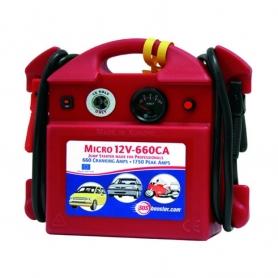 Booster de batterie professionnel UNIVERSEL 12V / 660Ah