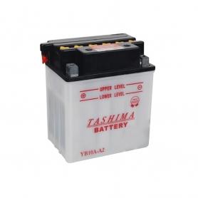 Batterie YB10AA2 + à gauche