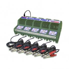 Chargeur pour 5 batteries TECMATE 12V / 1,8A
