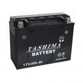 Batterie YTX24HLBS + à droite