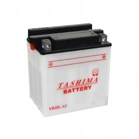Batterie YB10LA2 + à droite