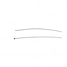 Câble souple à embout tonneau UNIVERSEL longueur 1000 mm