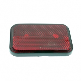 Catadioptre rouge rectangulaire 100x68 mm