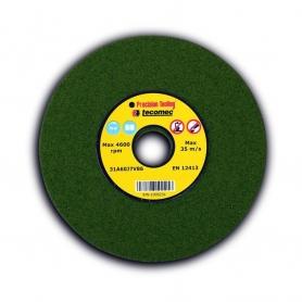 Meule d'affûtage tendre TECOMEC Épaisseur 4,7 mm diamètre extérieur 145 mm Alésage 22,2 mm