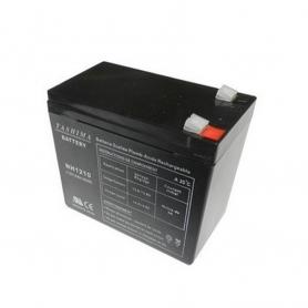 Batterie DJW1210 + à gauche