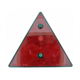 Catadioptre rouge triangulaire