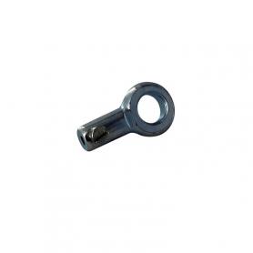Fin de câble universel avec oeillet 8 mm pour câble - diamètre 2,5 mm