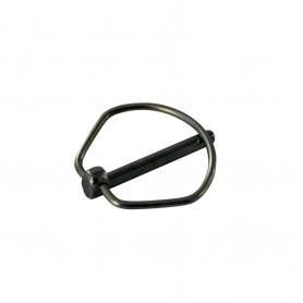 Goupille d'arrêt UNIVERSELLE 35 mm diamètre 4,3 mm pour axe 25 mm