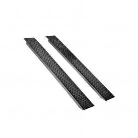 Jeu de rampes droite UNIVERSELLE aluminium - Longueur 150 cm