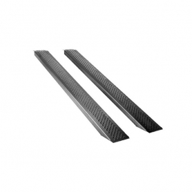 Jeu de rampes droite UNIVERSELLE aluminium - Longueur 200 cm