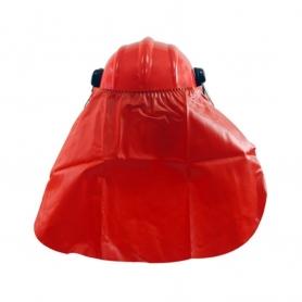 Protège nuque en PVC OZAKI pour casque forestier