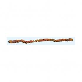 Longe porte outil ou tronçonneuse élastique avec fixation baudrier