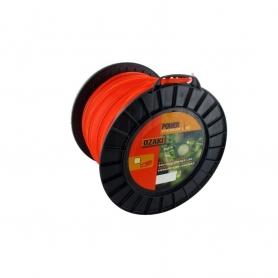 Coque fil nylon carré OZAKI 98 m diamètre 4,50 mm