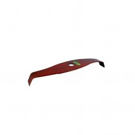 Lame 2 dents spéciale ronces courbe 315mm - 20mm UNIVERSELLE pour débroussailleuse