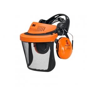 Combinaison visière de protection et casque anti-bruit 3M PELTOR