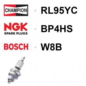 BOUGIE CHAMPION RL95YC - NGK BP4HS - BOSCH W8B