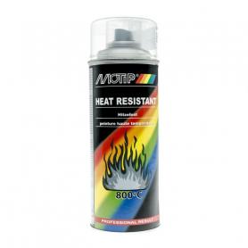 Peinture spéciale motoculture couleur ALU BLANC Haute Température - Aérosol 400ml