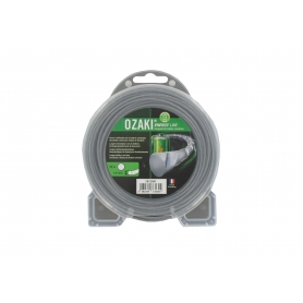 Coque fil nylon ondulé rond Diamètre 1,6mm OZAKI ENERGY LINE (15m)