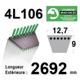 Courroie 4L1060 - 4L106