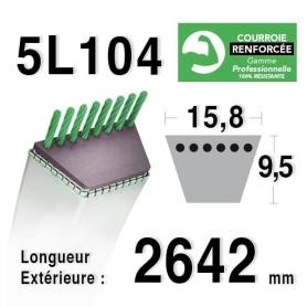 Courroie 5L1040 - 5L104