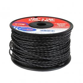 Bobine fil nylon hélicoïdal copolymère VORTEX - 2.70mm x 56m - Qualité professionnelle - Fabrication américaine