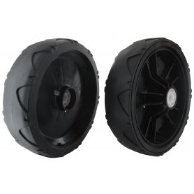 Roue plastique diamètre 180mm GGP - CASTELGARDEN 381007445/0