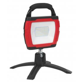 Projecteur de travail portable et rechargeable de 7,4V, 4400mAh CETEOR