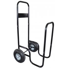 Chariot porte bûches avec bâche de protection UNIVERSEL XBIWT150