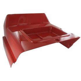 Capot central rouge GGP - CASTELGARDEN 325110383/2