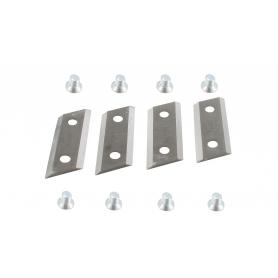Kit de 4 couteaux et boulons ALKO 104655 - 411711 - modèle TCS2200