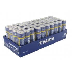Pack atelier de 40 piles alcalines VARTA LR6