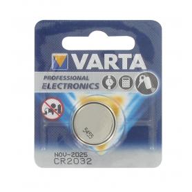 Blister pile bouton VARTA CR2032
