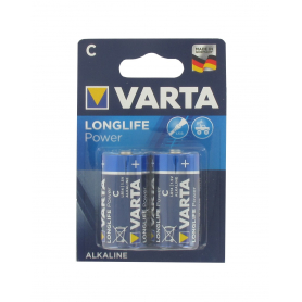 Lot de 2 piles alcalines 1,5V VARTA LR14