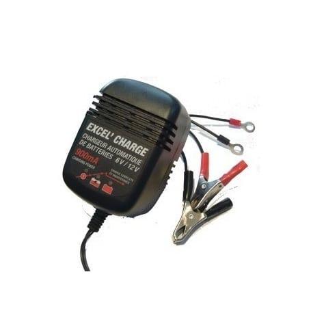 Chargeur de batterie xl900 EXCEL - 6v/12v - 900 ma