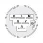 Contacteur 7 broches AYP 140301 MTD 725-1717 - 925-1717 HUSQVARNA 532140301 MURRAY 092556ma - 092556 - 92556