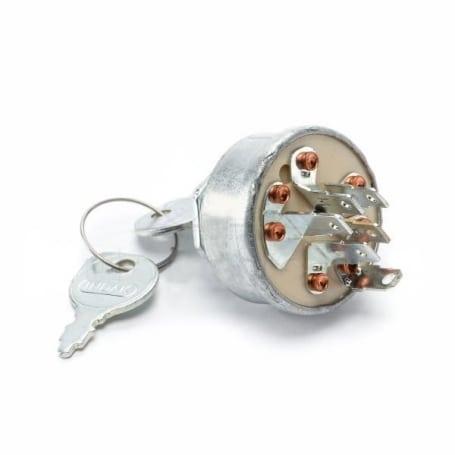 Contacteur a clé 6 bornes MTD 7251396 - 725-1396 - 9251396 HUSQVARNA 539101710