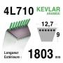 Courroie 4L710 - 4L71 AMF - NOMA 47390 - 38098 ARIENS 72116 BERNARD LOISIRS 498631 - 47390